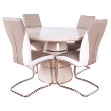 Zuri Round Dining Table And 4 Chairs - Balmoral Furniture One Of ... Kitsch Round Glass Table Set Of 4 Chairs Dfs Ireland Mcombo Mcombo Ding Side 4ding Clear Ingatorp And Chairs White Ikea Cally Modern Table With La Sierra Fniture Grindleburg 60 Woodstock Carisbrooke Barker Stonehouse Dayton 48 Upholstered Shop Hlpf5cap 5 Pc Small Kitchen Setding Hanover Traditions 5piece In Tan A Jofran Simplicity Chair Slat Back Pier 1 W Aptdeco Rovicon Lulworth Pedestal