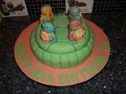 Ninja Turtle Decorations Ideas by Ninja Turtles Birthday Cake