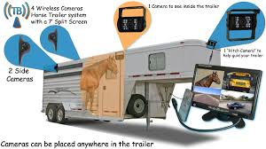 100 Backup Camera System For Trucks Horse Trailer With 4 Wireless S And Rear View