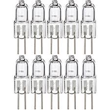 ctkcom t3 g4 base halogen light bulbs 10 pack 20 watt 12 volt