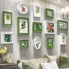 großhandel weiß foto rahmen für sofa hintergrund bilderrahmen esszimmer holz bilderrahmen vintage wand kunst 13 stück retro wohnzimmer hängender fotos