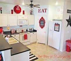 Unusual Red Kitchen Decor Best 25 Ideas On Pinterest Small
