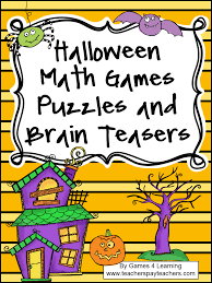 Halloween Brain Teasers Worksheets by Halloween Brain Teasers