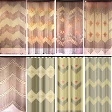 Chevron Window Curtains Target by Natural Bead Curtain