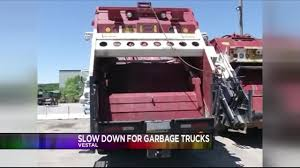Law Would Make You Slow Down In N.Y. For Working Garbage Trucks Heil Garbage Truck Durapack 5000 Trucks For Children With Blippi Learn About Recycling Halfpack Odyssey Residential Front Load Volvo Shows Off Fl Garbage Truck Plans 26 Ton Version Eltrivecom 2004 Mack Le600 For Sale 1992 Councilman Wants To End Frustration Of Driving Behind Kids Vehicles Youtube Why Love Buy Bruder Toys Mack Granite Ruby Red Green Online Trucks Honor Sanitation Worker Who Died On The Job Miami