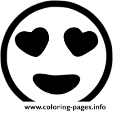 Emoji Black And White Coloring Pages Printable