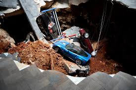 Corvette Museum Sinkhole Cars Lost by The Destruction Of 8 Priceless Collectible Corvettes And The