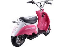MotoTec 24v Electric Girls Moped