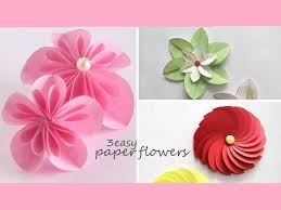 How To Make A Paper Flower Step By Easy Flowers Making