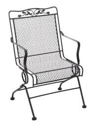 Meadowcraft Patio Furniture Dealers by Meadowcraft 7871700 020500 Glenbrook Action Patio Chair Charcoal
