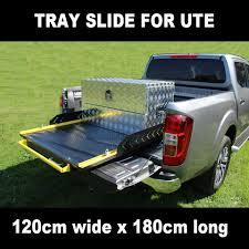 100 Truck Slides TBS1000 Heavy Duty Tray Cargo Ute Floor Slide Bed For Ute