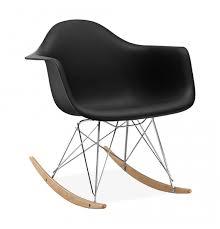 chaise a bascule eames chaise à bascule rar style eames secret design