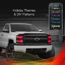 100 Led Lights For Trucks Headlights XKchrome 2nd Gen IOS Android Smartphone App Bluetooth XKchrome 2 In