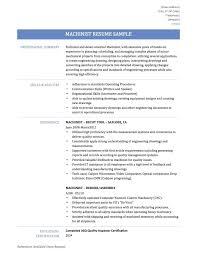 Cnc Machinist Resume Samples Save Elegant 51 Luxury Quality Assurance Analyst