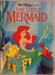 The Little Mermaid Ariel Walt Disney Classic Series Twin Books 1989 Hardcover