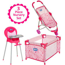 Amazon.com: Baby Doll Furniture Gift Set, For Up To 18-Inch Baby ... Graco Souffle High Chair Pierce Doll Stroller Set Strollers 2017 Vintage Baby Swing Litlestuff Best Of Premiumcelikcom 3pc Girls Accessory Tolly Tots 4 Piece Baby Doll Lot Stroller High Chair Carrier Just Like Mom Deluxe Playset With 2 In 1 Sleepsack For Duodiner Eli Babies R Us Canada 2013 Strollers And Car Seats C798c 1020 Cat Double For Dolls Youtube 1730963938 Amazoncom With Toys Games