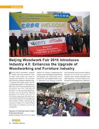 media coverage the 16th international exhibition on woodworking