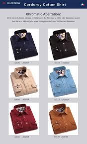 langmeng 100 cotton vintage corduroy dress shirt men slim fit new