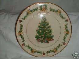 Lenox Christmas Trees Around The World PlateAustria