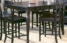 Modern Outdoor Ideas Medium Size Bar Height Dining Table Black High Top Small Rustic Chair Set