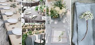 Grey Wedding Theme Colour LILAC WHITE