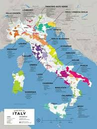 Italian Wine Exploration Map By Folly