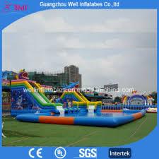 Inflatable Inground Pool Slide Water Slide For Inground Pool