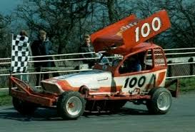 100 Hurricane Harry Smith Showing The Crowd His Victory Lap With Chequered Flag