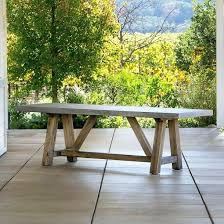 Concrete Top Outdoor Table Quick View Dining Uk