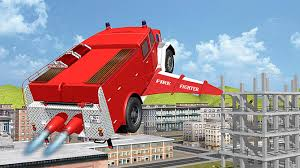 100 Free Fire Truck Games Flying Truck City Pilot 3D Free Download Of Android Version