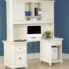 Kidkraft Avalon Desk With Hutch White 26705 by Home Office Desk With Hutch Foter