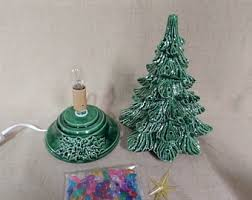 Tubular Light Bulb For Ceramic Christmas Tree by Christmas Trees Etsy