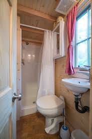 How I Survived A Tiny Home Vacation—with Two Kids - Curbed Tiny Home Interiors Brilliant Design Ideas Wishbone Bathroom For Small House Birdview Gallery How To Make It Big In Ingeniously Designed On Wheels Shower Plan Beuatiful Interior Lovely And Simple Ideasbamboo Floor And Bathrooms Alluring A 240 Square Feet Tiny House Wheels Afton Tennessee Best 25 Bathroom Ideas Pinterest Mix Styles Traditional Master Basic