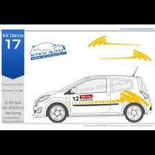 deco voiture de rallye kit déco rallye 17