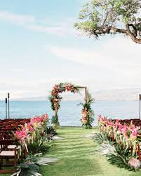 A Casual Beach Wedding In Puako Hawaii