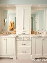 Double Vanity Small Bathroom by Lovable Double Vanity Bathroom Cabinets And Best 25 Double Vanity