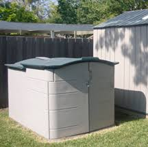Rubbermaid Roughneck Shed Assembly by Slide Lid Shed