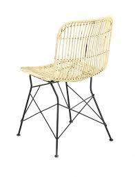 chaise kubu chaise en kubu naturel lot de 2