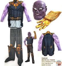 Rubies Marvel Avenger Infinity War Deluxe Thanos Childs Costume