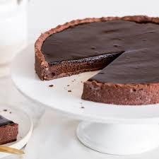 tarte au chocolat französische schokoladentarte