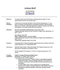 Teaching Resume Examples Teacher Download X Australia