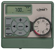 orbit sprinkler timer 6 zone station indoor water irrigation