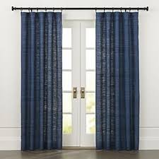 European Cafe Window Art Curtains by Curtain Panels And Window Coverings Crate And Barrel