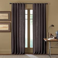 Bed Bath And Beyond Curtain Rod Rings by Cambria Malta Rod Pocket Back Tab Window Curtain Panel Bed Bath