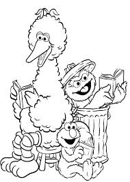 The Last Unicorn Coloring Pages Awesome Sesame Street