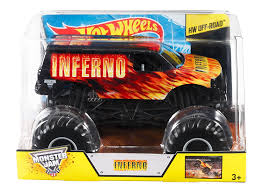 100 Monster Truck Tires For Sale Hot Wheels Jam Inferno DieCast Vehicle 124 Scale Good