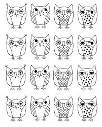 Owl Outline Template Coloring Pages Owls For Kids Purdue Format