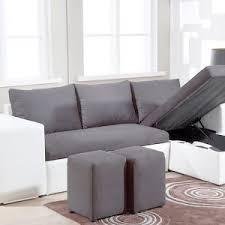 canapé d angle pouf canapé d angle réversible et convertible avec pouf coffre table