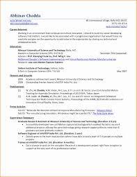 Resume Format Mechanical Engineer F