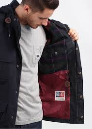 penfield kasson hooded parka navy